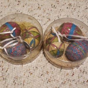 Potterybarn decorative Easter eggs - 2 sets
